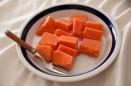 Postre de papaya